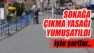 Karaman'da Sokağa Çıkma Yasağı Yumuşatıldı