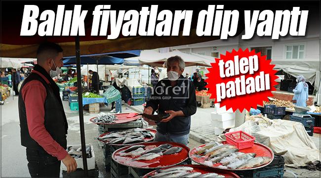 Karaman'da balık fiyatları dip yaptı
