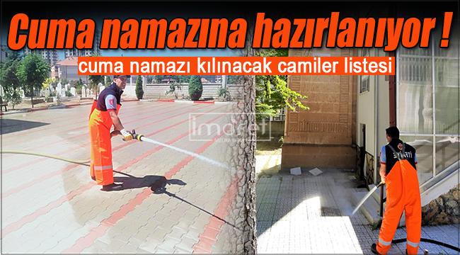 Karaman'da cuma namazı kılınacak camilerin güncel listesi