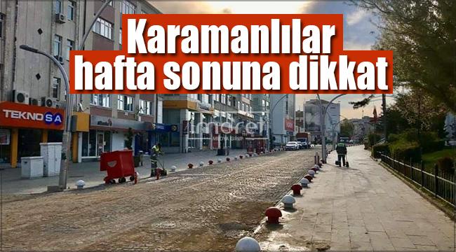 Karaman'da hava sıcaklıkları artıyor !
