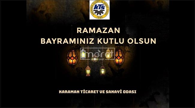 KTSO Başkanlarından Ramazan Bayramı Mesajı