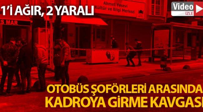 Sancaktepe'de otobüs şoförleri arasında kavga kanlı bitti: 1'i ağır 2 yaralı