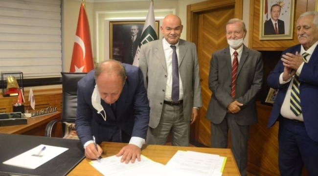 Kardeş şehir protokolü imzalandı