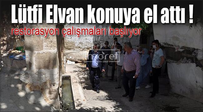 Ermenek'te restorasyon çalışmaları başlıyor