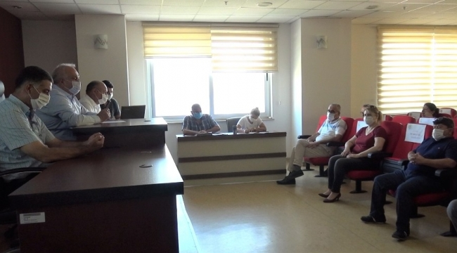 Erdemli Belediyesi Ağustos Ayı Meclis Toplantısı yapıldı