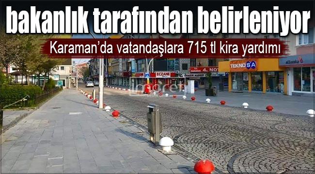 Kentsel dönüşüm kapsamında vatandaşlara 715 TL kira yardımı