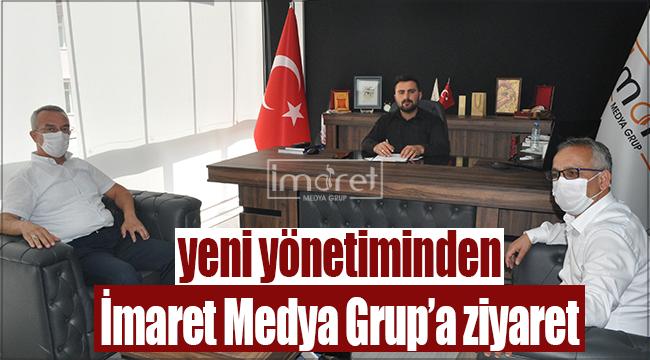 Ak Parti Merkez İlçe Yönetiminden İmaret Medya Grup'a ziyaret