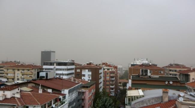 Ankara toz bulutuna esir oldu