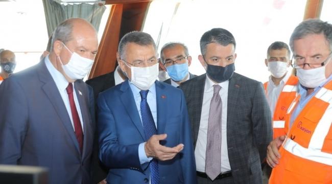 Cumhurbaşkanı Yardımcısı Oktay'dan KKTC'ye su müjdesi