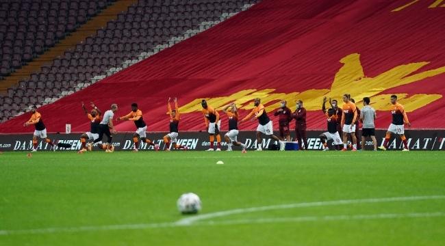 Galatasaray'da 7 değişiklik