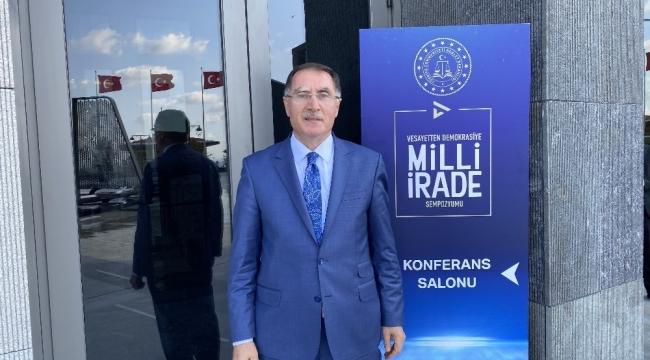 """Kamu Başdenetçisi Malkoç: """"Umudumuz odur ki 15 Temmuz ile birlikte Türkiye'de darbeler tarihi sona ermiştir"""""""