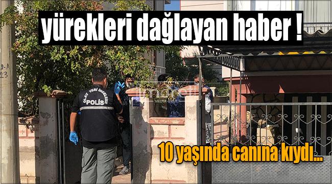Karaman'da 10 yaşında çocuk canına kıydı