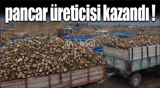 Karaman'da pancar üreticisini sevindiren haber