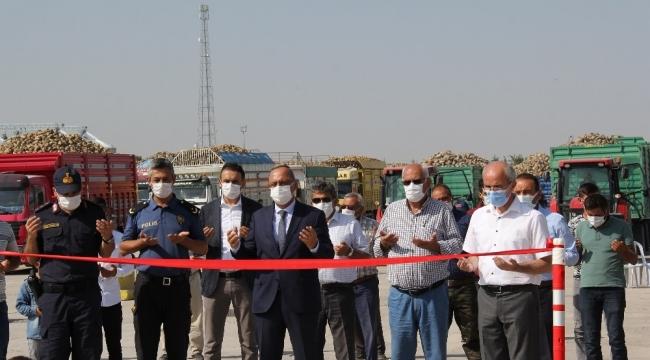 Konya Şeker'de kampanya döneminin üretim startı verildi