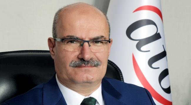 """ATO Başkanı Baran'dan """"KDV ve muhtasar"""" çağrısı"""