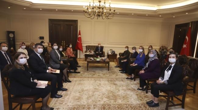 """Bakan Soylu: """"Muhtarlık Daire Başkanlıklarının kurulması ve illerde vali yardımcılarının muhtarlarımız ile sürekli muhatap olması çok önemli"""""""