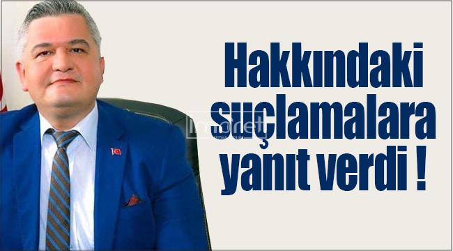Başkan Zorlu, hakkındaki iddialara yanıt verdi