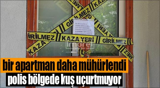 Karaman'da bir apartman daha karantinaya alındı