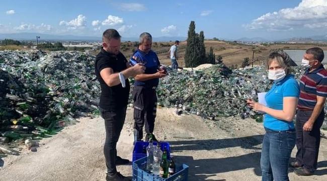 Serik'te belgesi olmadan tütün ve alkol satan işletmelere ceza yağdı