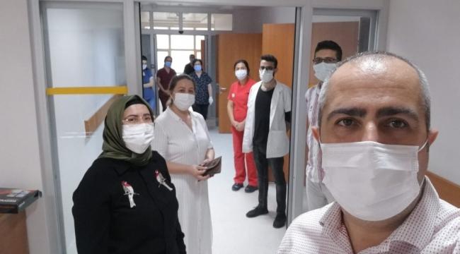 Silifke'de Covid-19 testleri için PCR laboratuvarı kuruldu