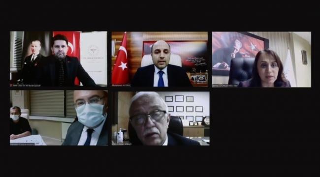 Sağlık Bakanı Koca, 5 İlin Sağlık Müdürleriyle görüştü