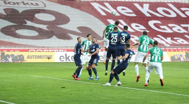 Süper Lig: Konyaspor: 2 - Kasımpaşa: 1