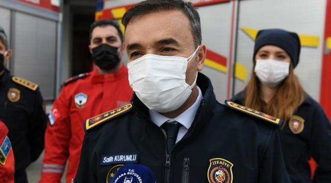 Ankara İtfaiyesi doğal afetlerde TAMGA ile iş birliği yapacak