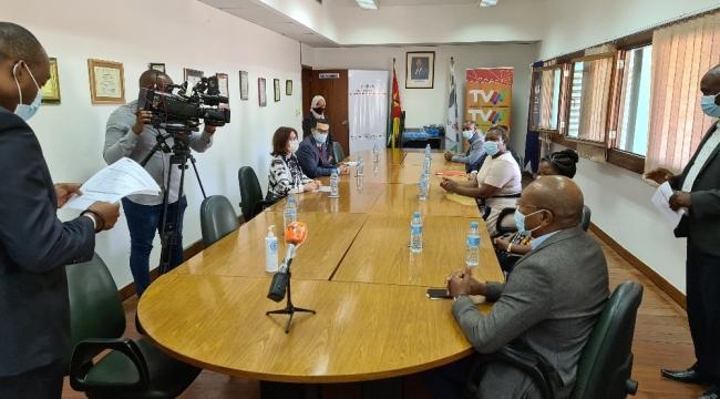 TİKA'dan Mozambik Devlet Televizyonu'nun dijital yayına geçme sürecine destek