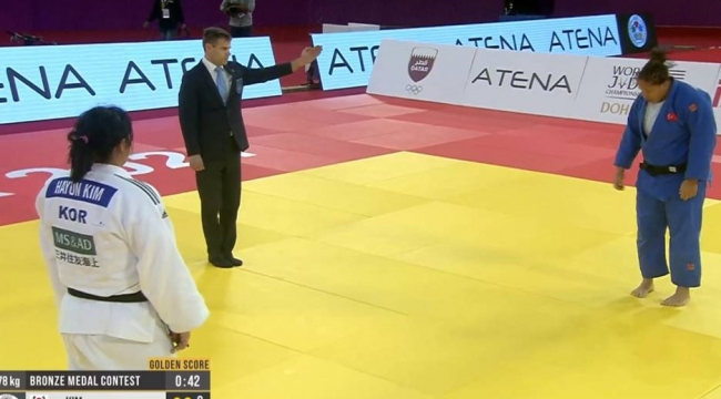 2021'in ilk madalyası Kayra Sayit'ten bronz
