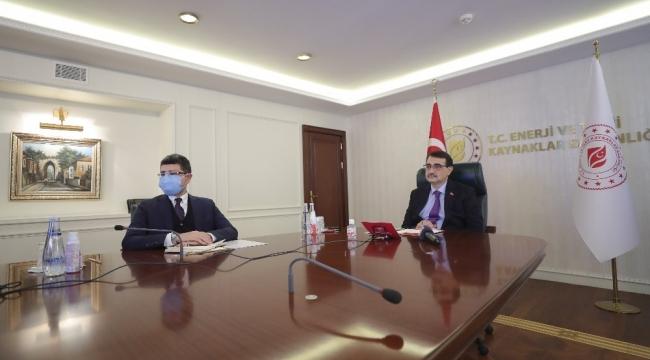 """Bakan Dönmez: """"TANAP'tan bugüne kadar yaklaşık 9,1 milyar metreküp gaz akışı gerçekleşti"""""""