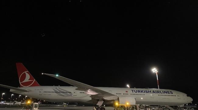 Çinli Sinovac firmasından sipariş edilen Korona virüs aşısının 6,5 milyon dozluk ikinci partisini taşıyan, Türk Hava Yolları'na ait kargo uçağı İstanbul Havalimanı'na indi.