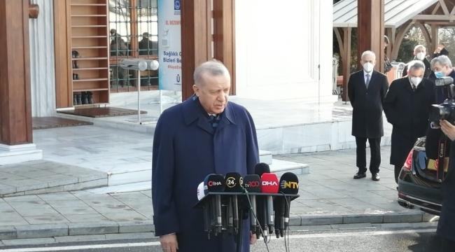 """Cumhurbaşkanı Erdoğan: """"İkinci parti aşımız, büyük ihtimalle bu hafta sonuna kadar gelebilir"""""""