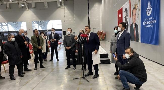 """Esenler Belediye Başkanı M. Tevfik Göksu,""""İBB Meclisi'nin bütün yetkilerini halk ekmek şirketine devretmemizi istiyorlar"""""""