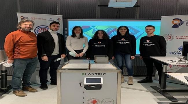 Plantric ekibi prototipini zemin İstanbul'da tanıttı