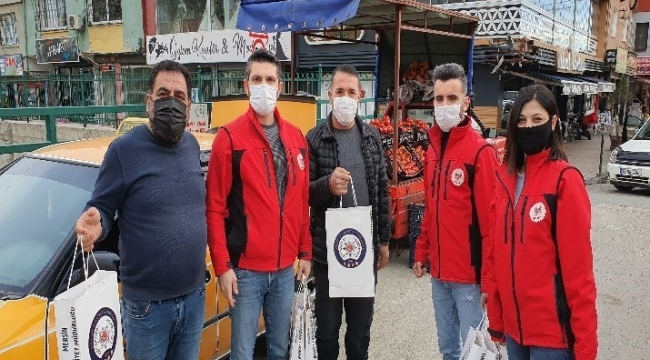 """Mersin'de """"Birlikte Güçlüyüz Projesi"""" başladı"""