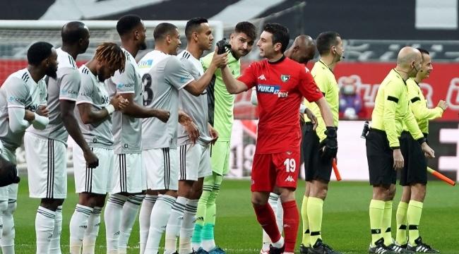 Süper Lig: Beşiktaş: 3 - Y. Denizlispor: 0