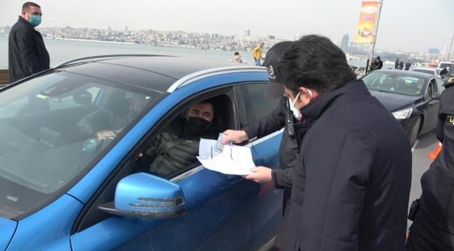 Üsküdar'da bugüne kadar sokağa çıkma kısıtlamasını ihlal eden 2 bin 863 kişiye para cezası uygulandı