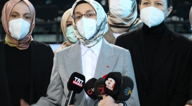 """AK Parti Kadın Kolları Başkanı Çam: """"İnsan demeye bile dilimiz varmıyor"""""""