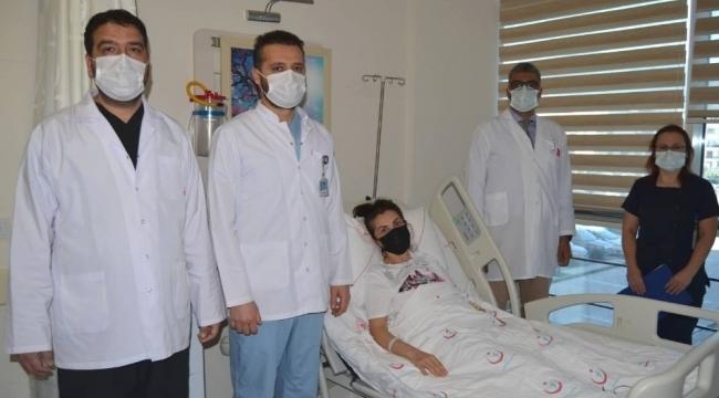 Alanya'da ilk kez yapılan laparoskopik pyeloplasti ameliyatı ile sağlığına kavuştu