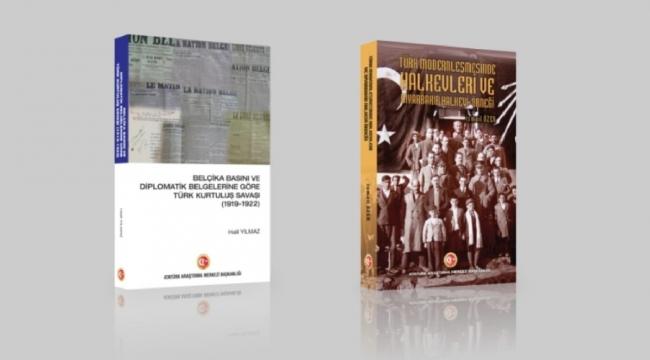 Atatürk Araştırma Merkezi Başkanlığından iki yeni eser