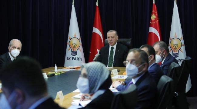 """Cumhurbaşkanı Erdoğan: """"Türkiye'nin geleceğinde CHP yok"""""""