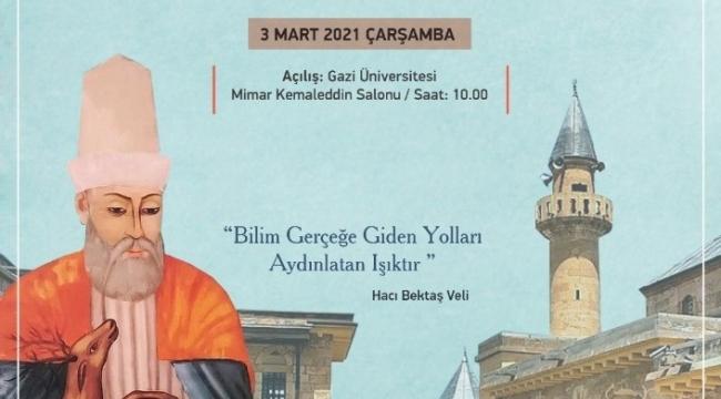 Gazi Üniversitesinden Hacı Bektaş Veli'yi anma sempozyumu