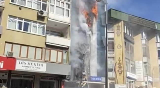 Kartal'da dershanede yangın çıktı. Olay yerine çok sayıda itfaiye ekibi sevk edildi.