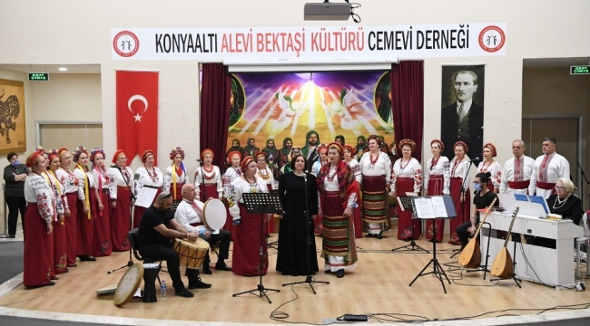 Konyaaltı Cemevi'nde 8 Mart Dünya Kadınlar Günü etkinliği