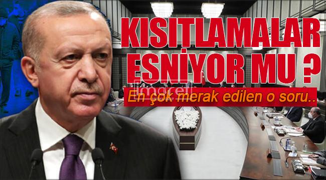 Koronavirüs tedbirleri esniyor mu! Cumhurbaşkanı Erdoğan kararları açıkadı!