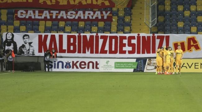Süper Lig: MKE Ankaragücü: 1 - Galatasaray: 0