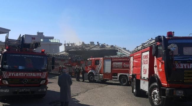 Tuzla'da villada korkutan yangın