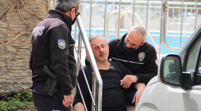 Dumandan etkilenip fenalaşan kalp hastasına ilk müdahale polisten