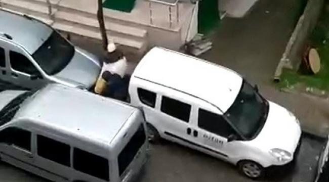 Güngören'de güpegündüz iş yeri hırsızlığı kamerada