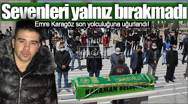 Karaman'da motosiklet kazasında ölen genç toprağa verildi